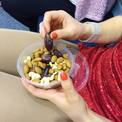 Dates, Almonds, Cashews, in-competition snack