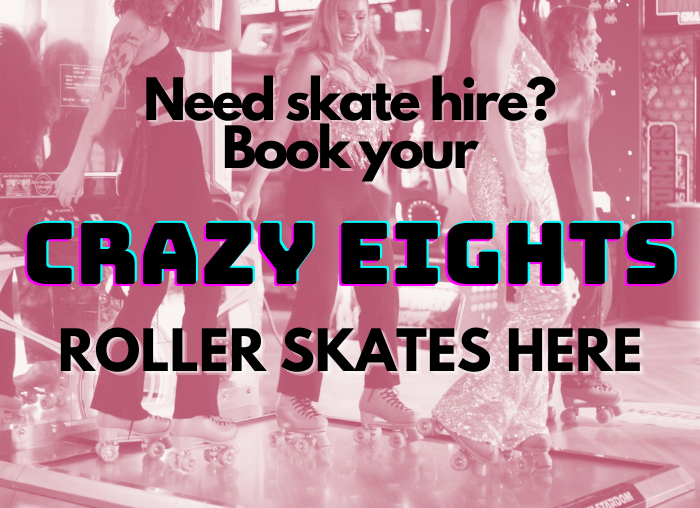 crazy eights roller skates for hire