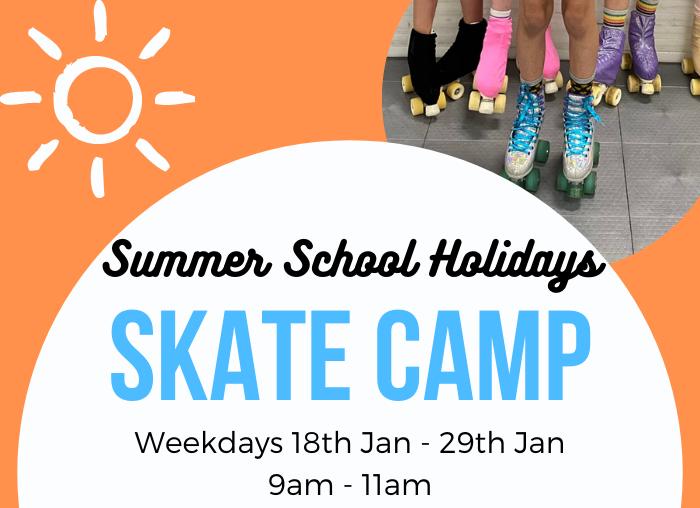 school holiday roller skate camp for kids
