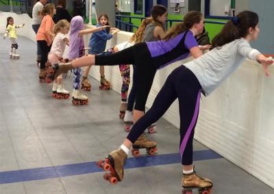 Learn to Figure Skate Auckland Arabesque