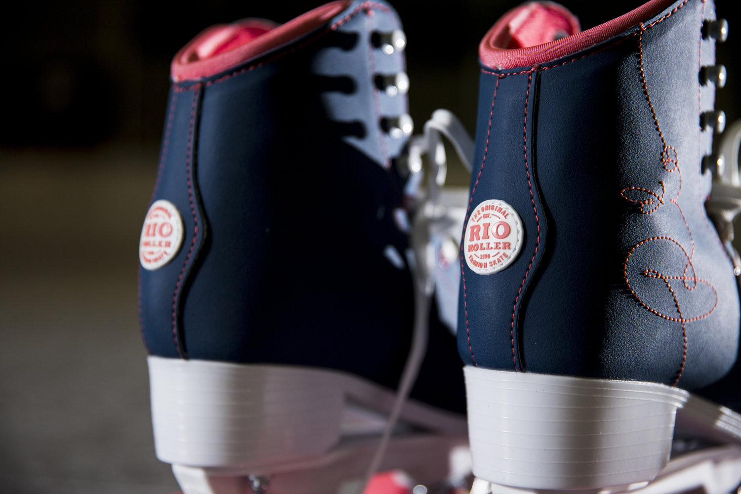 close up details on the new rio roller skates