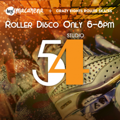 Sutdio 54 roller skating disco party at activzone in glenfield Auckland