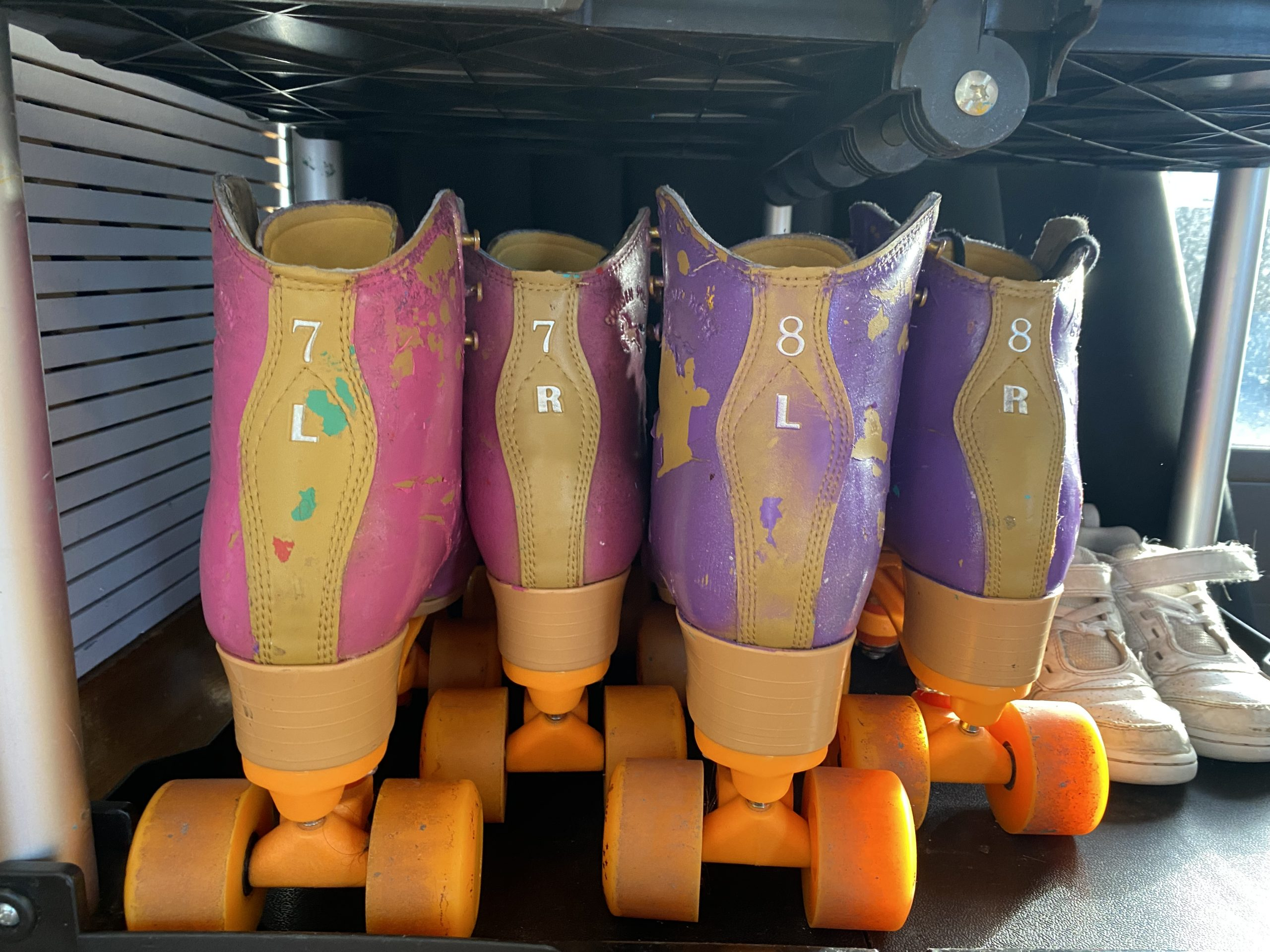 roller skates for rent from crazy eights roller skates